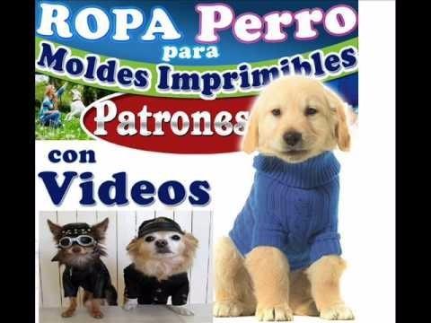 Ropa Para Perros Pack Imprimible Patrones Confeccion Moldes ...