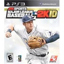 Jogo Ps3 - Major League Baseball 2k 10 Lacrado