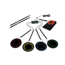 Kit Bateria Portatil Rock Band Xbox 360 Nuevo Blakhelmet Sp