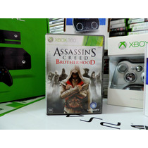 Assassins Creed Brotherhood Xbox 360 Legenda Português