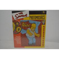 Rompecabezas Los Simpsons Homero Photomosaic Imagnes Pequeña