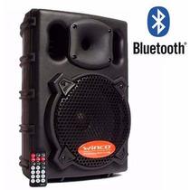 Parlante Winco W210 Profesional Activo Bluetooth Usb Sd 500w