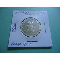 Moeda De 1000 Réis De Prata 900 De 1910 X Grammas Linda