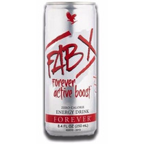 Forever Living Products Active Boost-x (fab) 12 Latas 250ml