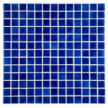 Mosaico Veneciano 2.5x2.5 Azul Niebla Obscuro Eurodiamond