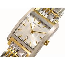Reloj Burberry Original Zafiro Chapa De Oro Vendo/cambio
