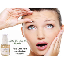 Acido Glicólico 6% Hinode Peeling Quimico + Frete Gratis!!