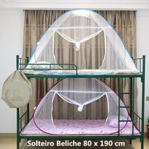 Mosquiteiro Solteiro 80x190cm Branco Rosa Frete Grátis