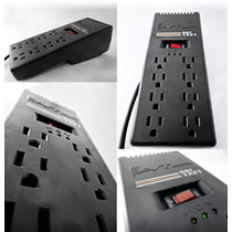 Regulador De Voltaje Avtek R8t-1221, 1200va 8 Tomas(tienda)