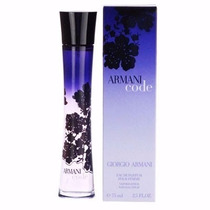 Perfume Armani Code Fem Edp 75 Ml Lacrado