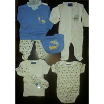 Conjunto Pijama Para Bebes 10 Piezas 0-12 Meses!!!