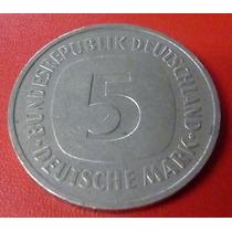 Alemania Moneda 5 Deutschemark 1975 Xf