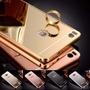 Funda Espejada Mirror Case Huawei P8 Lite + Vidrio Templado