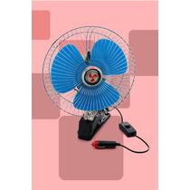 Mini Ventilador Veicular 12v 8 Polegadas Carro