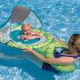 Boia Swimways P/bebes Com Cabaninha Uv 50+proteçao Importado