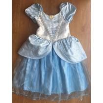 Vestido Cenicienta Disney Original Talla 7