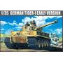 Tiger 1 Academy Escala 1/35 Maqueta Para Armar Tanque Milita