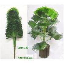 Planta Palmeira Leque Artificial 78cm Melhor Preço - Qx