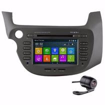Central Multimidia Fit Honda New Fit Dvd Gps Tv Digital