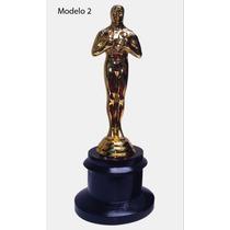 Estatuilla Premio Oscar 19cm Metal Personalizado Hollywood