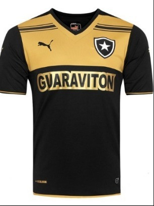 30d0713dd1bc4 Camisa Botafogo - Uniforme 3 - 2014 - Puma - R  120