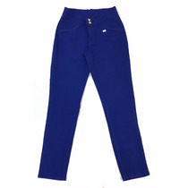 Calça Sarja Feminina Azul Plus Size Tamanhos Grandes - 1452