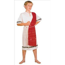 Disfraz De Emperador Romano Mediano Para Niños