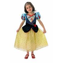 Disfraz Princesas Blancanieves Talle L Original Disney