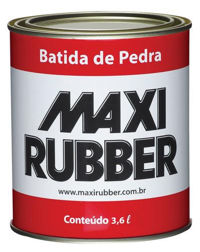 Batida De Pedra Preto 3 6l Emborrach Maxi Rubber 4ma032