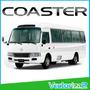Calcomania Toyota Coaster Autobus Somos Sitio Fisico