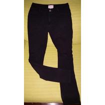 Pantalon Strech Negro Para Dama Marca Fef - Usado