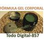 Fórmulas Elaboración Gel Cosmético Corporal Cosmética Artesa
