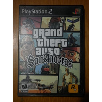 Grand Theft Auto San Andreas Para Ps-2 Envio Gratis