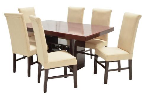 Comedor adonia fabou muebles 6 sillas moderno 6 598 for Comedores de oferta