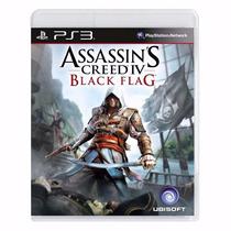 Assassins Creed Iv Black Flag Mídia Física Português Lacrado