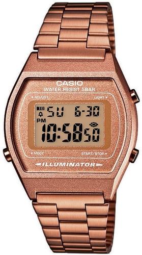 bbf52c96182d reloj casio retro vintage b640 oro rosa - envío gratis. Cargando zoom.