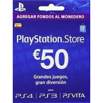 Psn Card 50 Euros Cuenta España