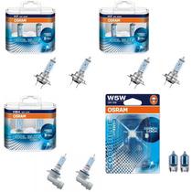 Kit Lampada Osram Cool Blue Intense H7 H7 Hb4 W5w