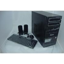 Desktop Amd Philco A8-3800 4gb,500hd,+ Teclado+mouse+cx Som