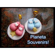 Escarpines De Porcelana Fría! Souvenirs Nacimiento Oferta!