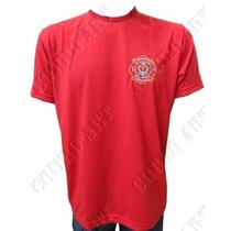 Camiseta Brigadista Vermelha Brasão - Brigadista Brasil