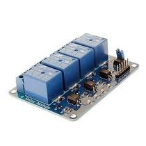 Módulo Relé 4 Canais 5v Arduino, Pic, Avr, Automação,rasp...
