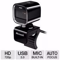 Webcam Microsoft Mod. Life Cam Hd-6000 (nuevas) Ideal Skype