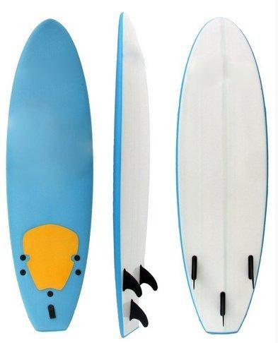 4d54edad9 Prancha Surf Evolution 6 6 Pés Soft Board Com Deck E Quilhas - R  479