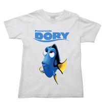 Camiseta Procurando Nemo Procurando Dory Dori Infantil 014