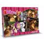 Masha Y El Oso 4 Puzzles 12 18 24 Y 36 Piezas