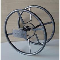 Suporte Enrolador Mangueira (25mts) (pintura Eletrostática)