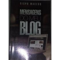 Livro Mensagens Do Meu Blog - Bispo Macedo