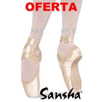 Zapatillas Punta Ballet Sansha Etudes, Ovation