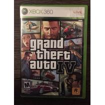 X Box 360 Grand Theft Auto Iv - Semi Novo
